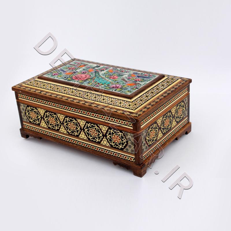 جعبه جواهرات صنایع دستی