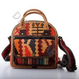 کیف رو دوشی گلیم دستهدار قشقایی