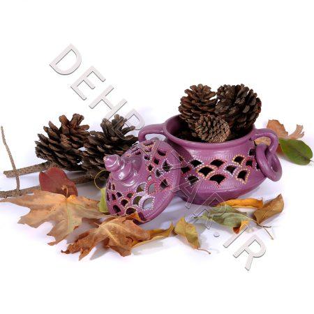 صنایع دستی - شکلات خوری سفالی