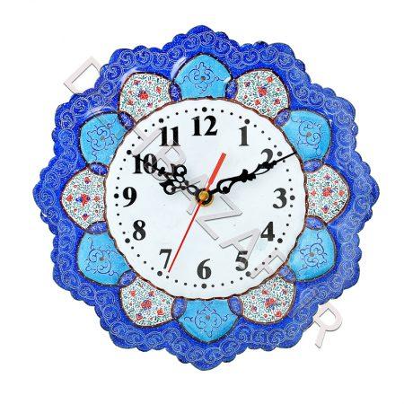 ساعت بشقاب میناکاری متوسط