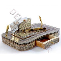 صنایع دستی - جاقلمی خاتم کاری کشابی
