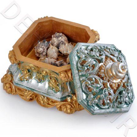 شکلات خوری سفالی ( جعبه شکلات ) - صنایع دستی