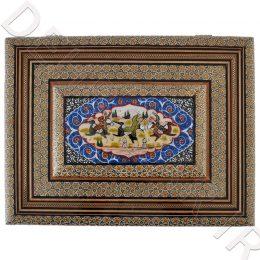 جاقرآنی خاتم کاری رو نقاشی - صنایع دستی