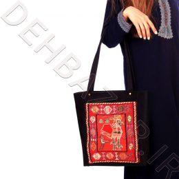 کیف گلیم مریم دست بافت تبریز - صنایع دستی