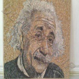 معرق سنگ چهره انیشتین