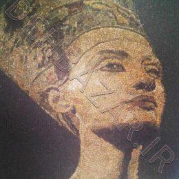 معرق سنگ چهره کلئوپاترا