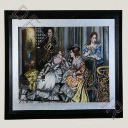 نقاشی پاستیل گچی