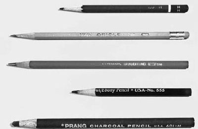 وسایل سیاه قلم