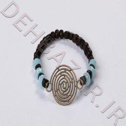 دستبند مهرهای طرح دایره