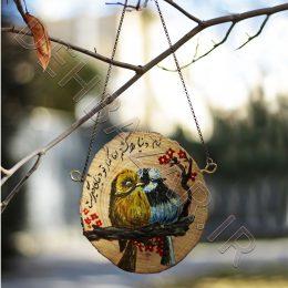 التصویر طيور الحب Painting Budgerigar