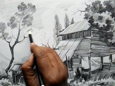 تاریخچه سیاه قلم