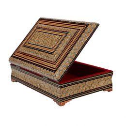 جعبه قرآن خاتمکاری سایز بزرگ
