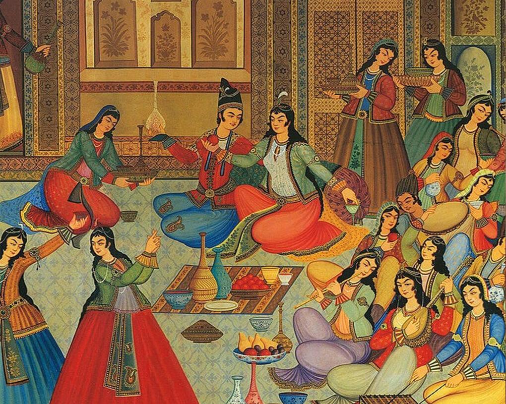 نگارگری یا نقاشی سنتی ایرانی
