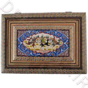 جا قرآنی خاتمکاری رو نقاشی متوسط