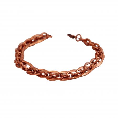 دستبند مسی زنجیره ای