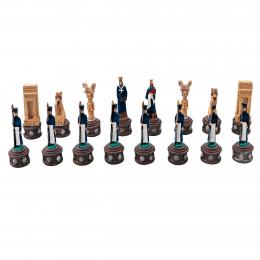مهره شطرنج رنگی هخامنشی پلیاستر