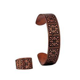 ست دستبند و انگشتر مسی مدل s6-203
