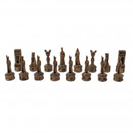 مهره شطرنج پتینه مسی هخامنشی پلیاستر